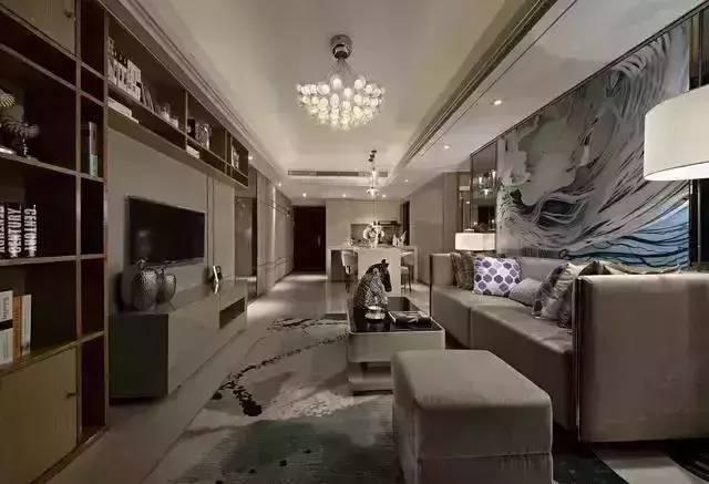 51款不同风格的客厅装修效果图