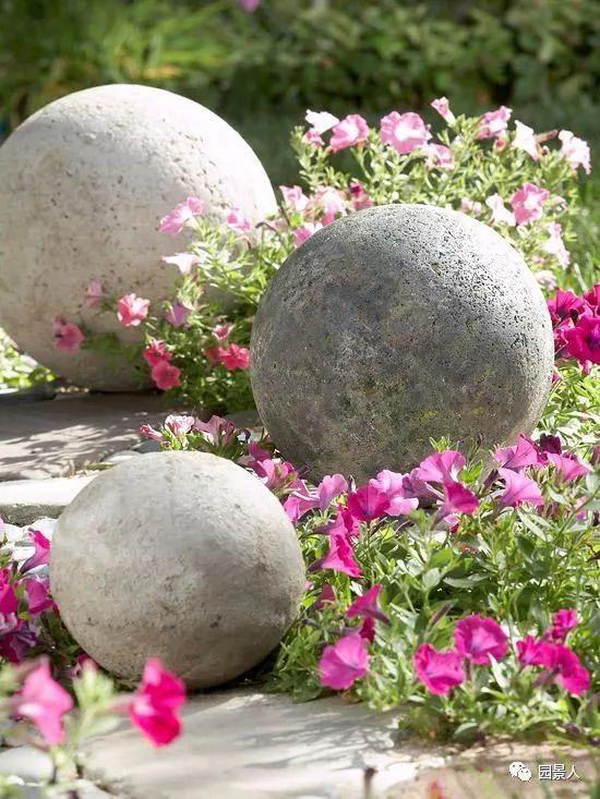 花园景观·石器小景_21