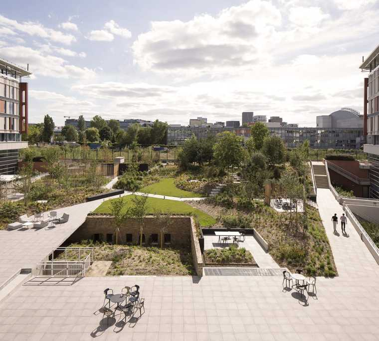 Massy-Palaiseau办公楼周围景观-2