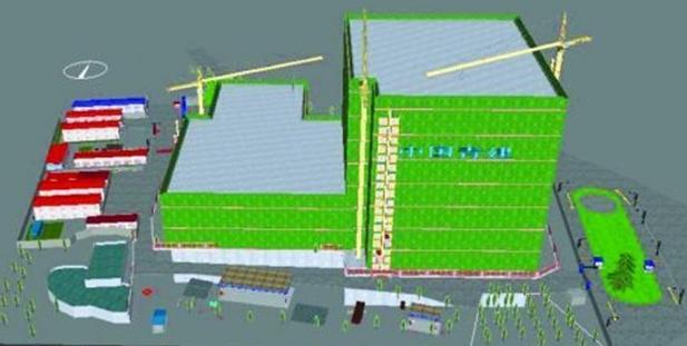 武汉卓尔万豪酒店机电安装BIM实施方案
