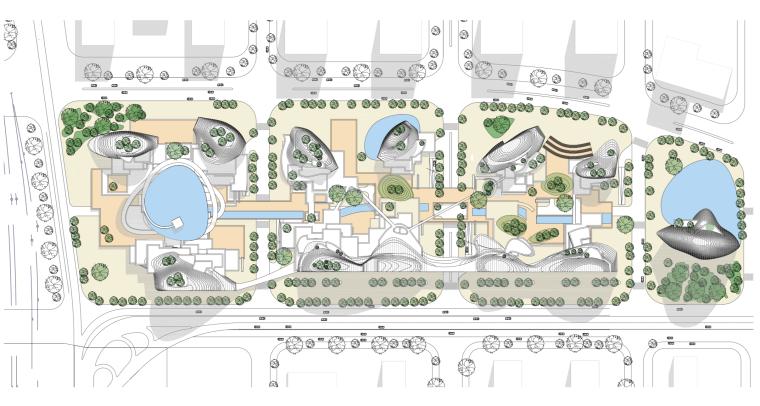 [江苏]MAD马岩松-山水城市商业综合体建筑设计方案文本(二)_4