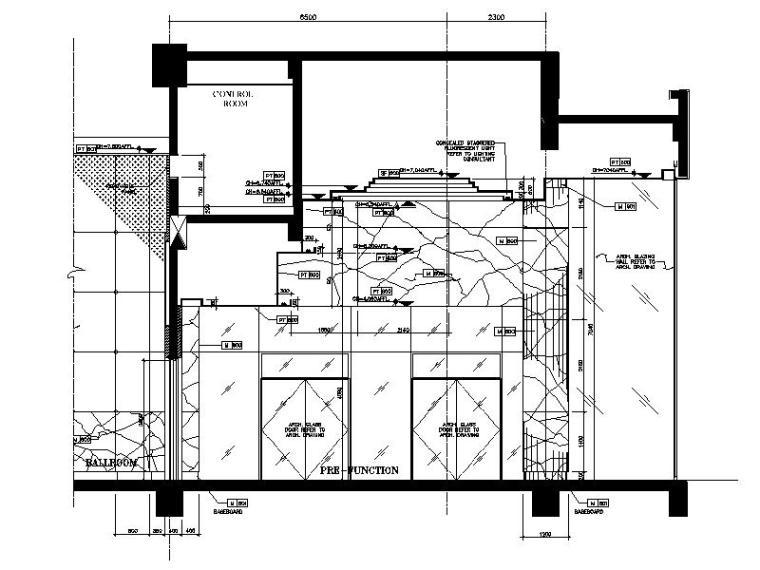 [中山]新中式特色风情酒店宴会厅室内设计施工图_9