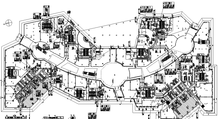厦门华润万象城特大型商业建筑电气&给排水施工图