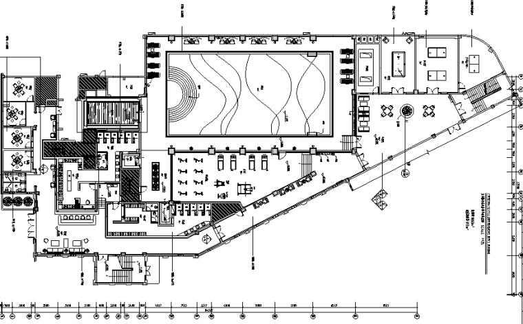 新古典主义水疗会所设计施工图(附效果图)