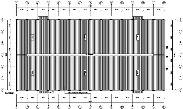 南安门式刚架结构工程方案图(CAD,11张)