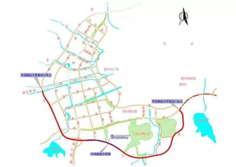 """打造坝光""""城市生命线"""",新区首条综合管廊初具雏形_1"""