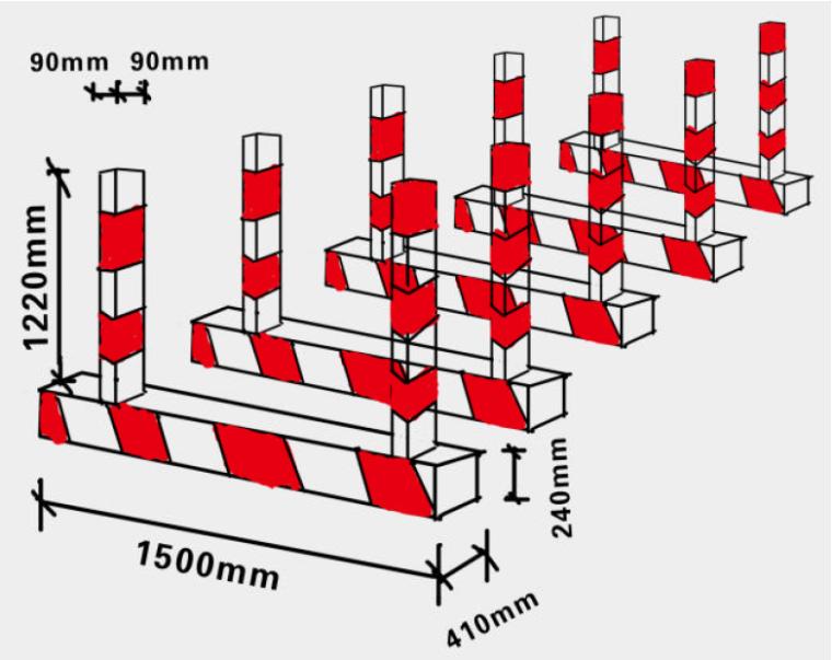 建筑工程文明施工安全管理标准化图集PDF(114页,附图丰富)