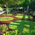 佛山泓江LE1800125HDPE草坪沙石隔离带黑色景观小品专用