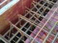 请问地下室顶板下排筋伸入人防墙做法对么?