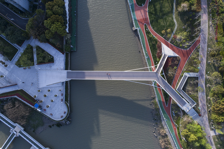 上海日晖港步行桥-2