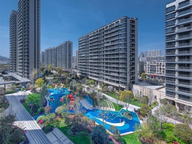 台州方远天韵水岸住宅景观