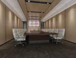 办公会议室3D模型下载