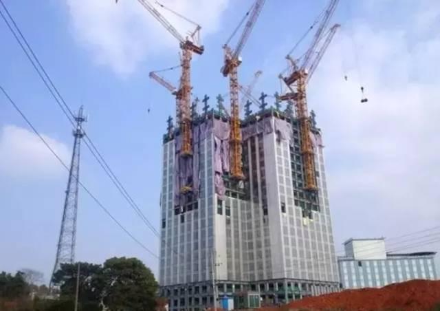 57层高楼19天建成,这就是中国速度!