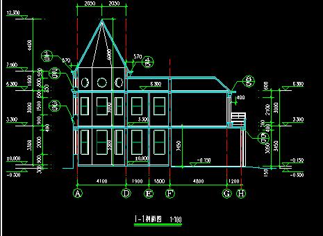北方别墅全套完整施工图