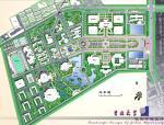 吉林某大学校园校园规划设计方案