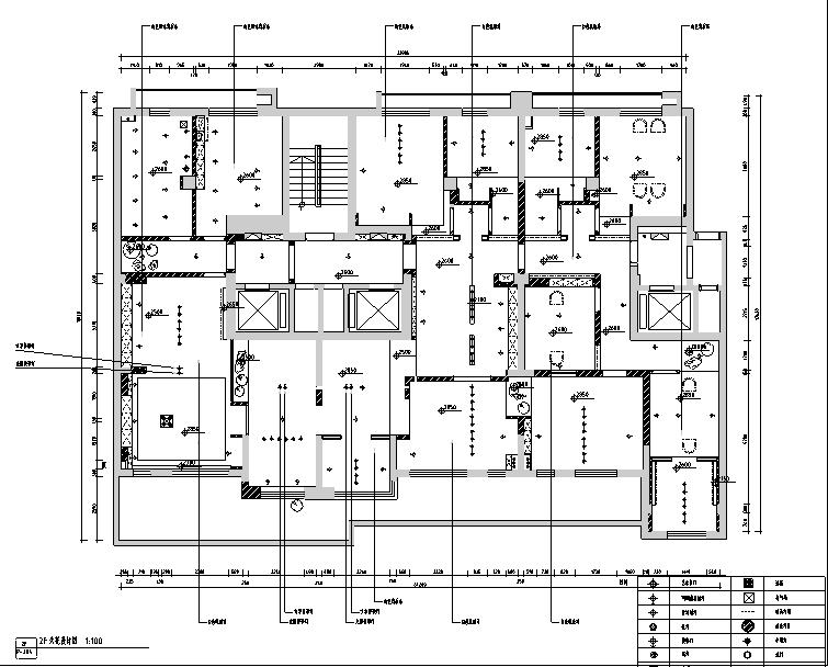 [新疆]东方禅意品茗茶室空间设计施工图(附效果图)_2