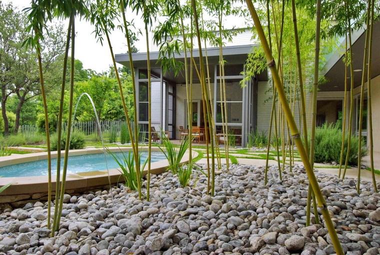 美国白岩住宅花园
