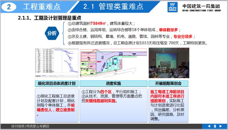 徐州地铁3号线银山车辆段项目策划汇报(共151页,图文丰富)_2
