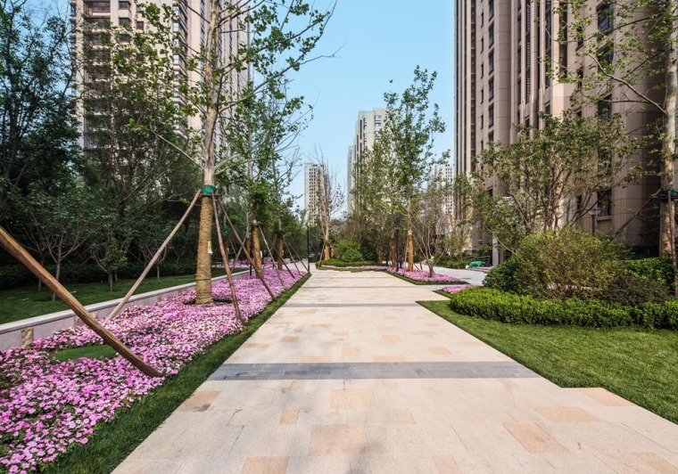 北京龙湖时代天街住宅景观