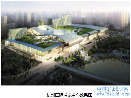 IK新未来精品店案例资料下载-[BIM案例]杭州国际博览中心BIM应用