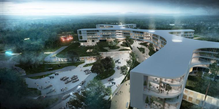 丹麦北新西兰区新医院