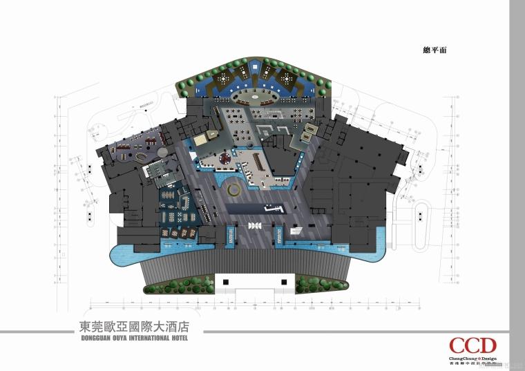 [广东]东莞欧亚国际大酒店概念设计方案文本