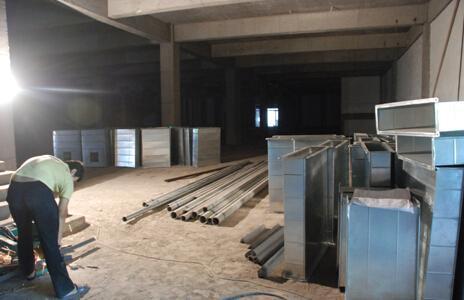 [重庆]重庆银行办公楼装修项目通风空调工程专项施工方案