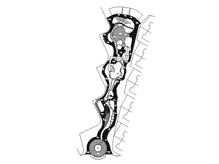 [广东]招商海月花園全套景观施工图设计(包含CAD)