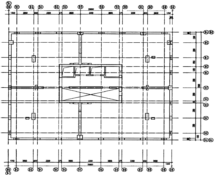 北京当代MOMA工程异形板无梁楼盖