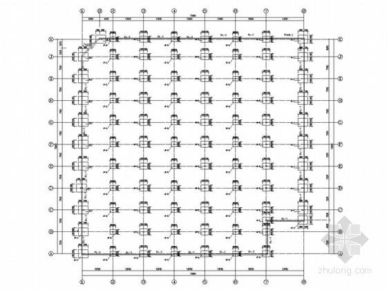 [四川]单层门式刚架结构车间厂房结构施工图