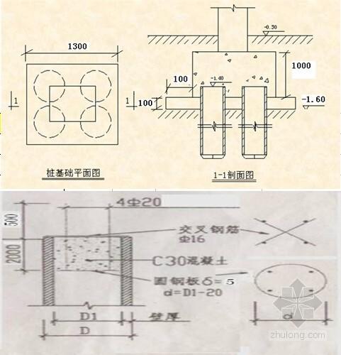 预制管桩工程量计算实例(含图)