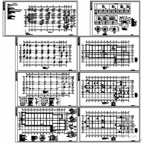 某隔震建筑结构设计施工图