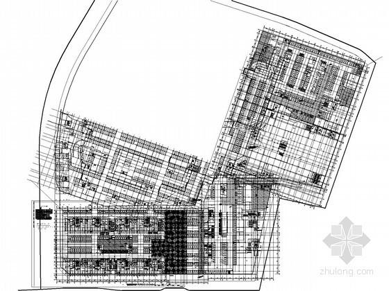 消防图管路图资料下载-[浙江]商用建筑游乐场及地下室给排水消防施工图(甲级设计院)