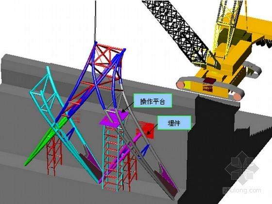 多功能体育场钢结构工程初步施工方案(58页 国外建筑)