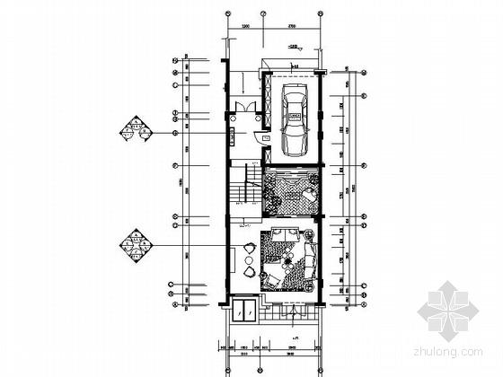 [昆山]新古典欧式三层别墅样板间设计装修图(含方案)