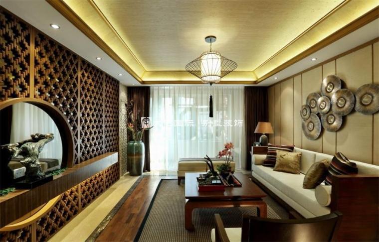东南亚风格样板间设计上_4