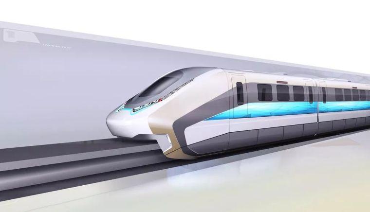我国首列商用磁浮3.0版列车明年初下线概念设计图曝光