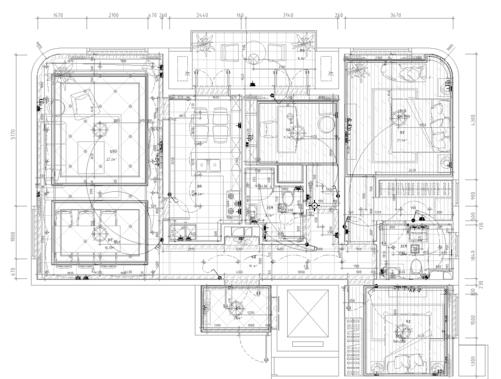 北京某商业综合体-1期全套图纸(含电气)