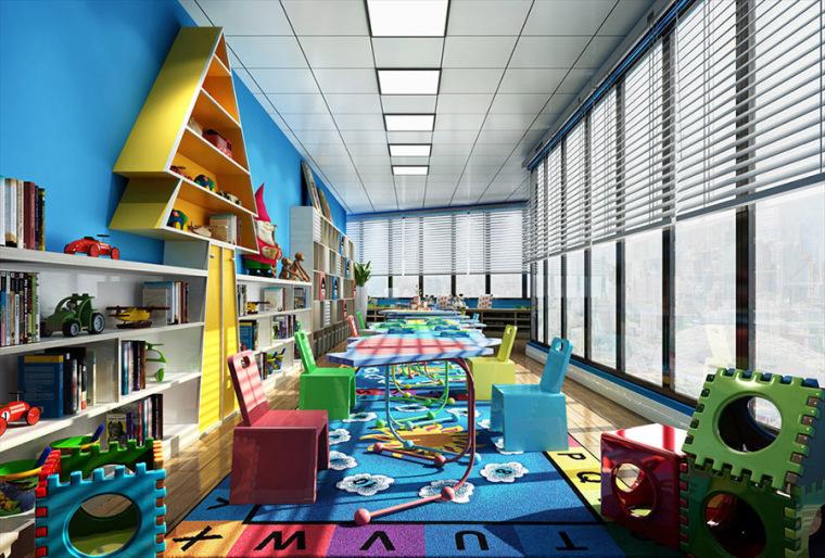 托儿所.幼儿园设计案例效果图