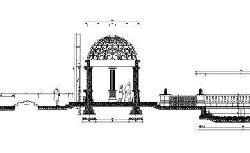 [合集]某景观亭节点施工图3套