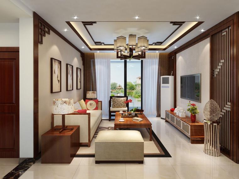 中式风格的住宅