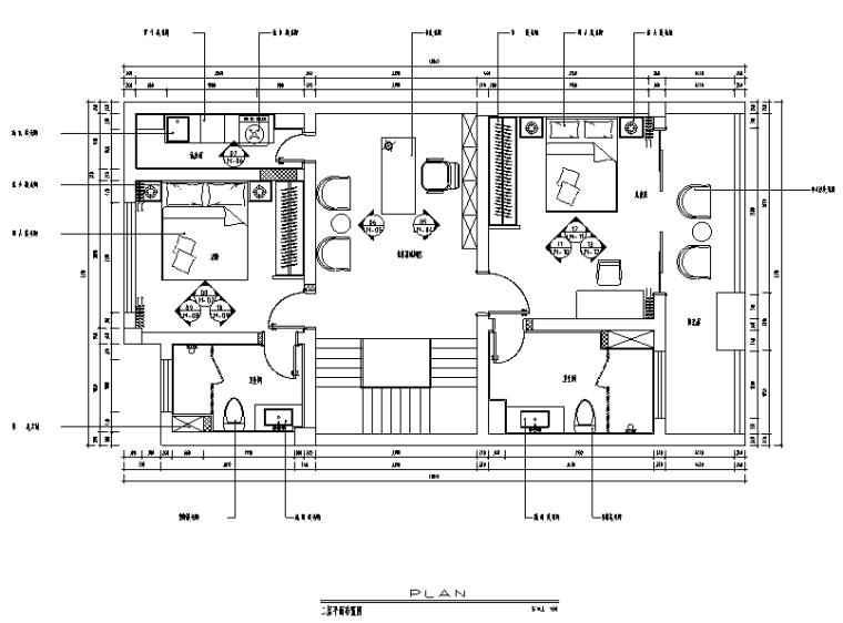 海和院简约别墅设计施工图(附效果图)_1