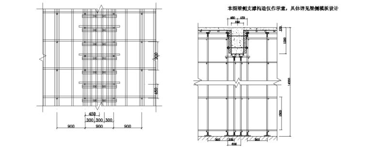 停车场及广场工程高大模板专项施工方案专家论证