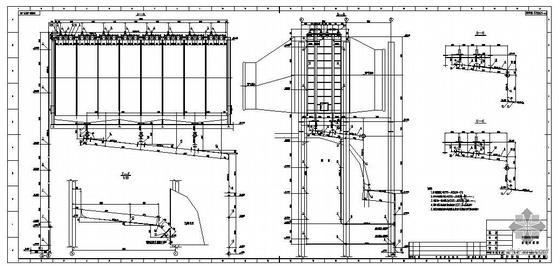 云南某烟气脱硫管道工程结构图