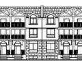 某三层联排别墅建筑施工图