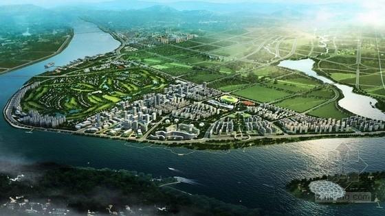 [湖南]大型城市规划及单体设计方案文本(英国知名公司)