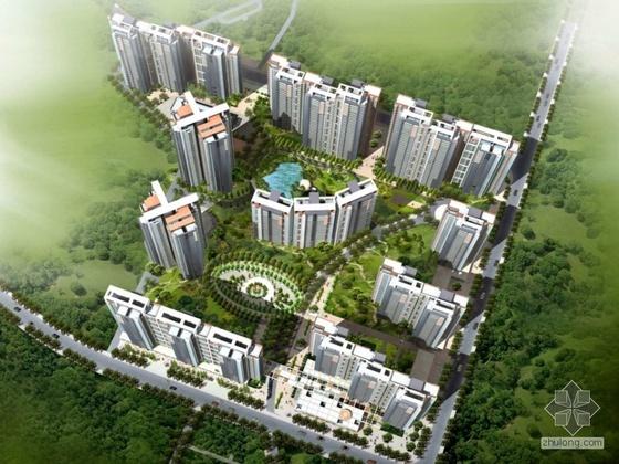 [长沙]某现代住宅小区规划及建筑方案文本