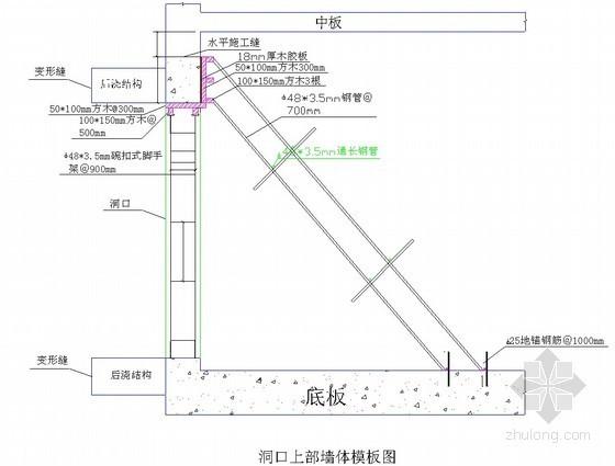 [北京]地铁车站主体结构模板施工方案(木胶板 模板计算书)