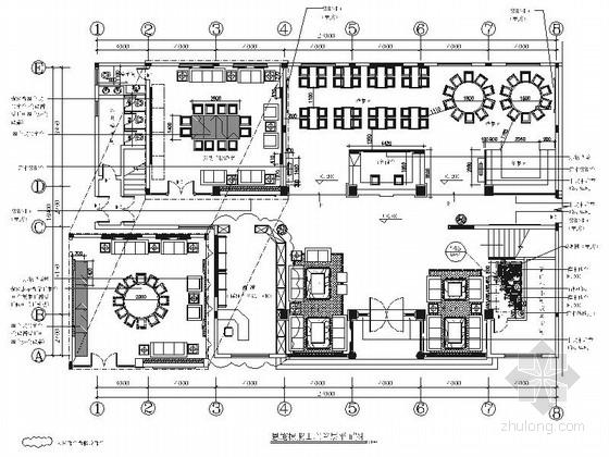 [湖北]高档新中式风格五星级酒店室内装修施工图(含效果)