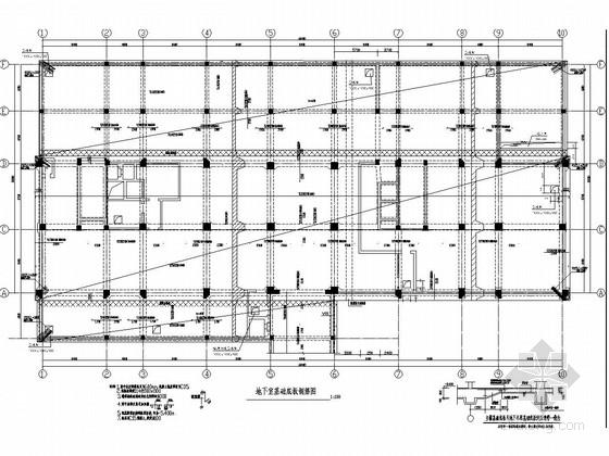 12层框架结构质量技术监督局办公楼结构施工图